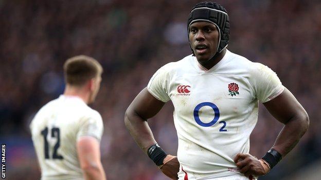 Maro Itoje: England lock signs new 'long-term' deal at Saracens - BBC Sport