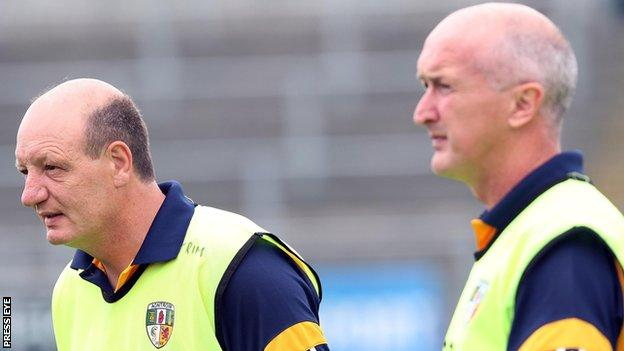 Terence McNaughton and Dominic McKinley were joint managers of Antrim from 2007 to 2009