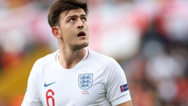 Harry Maguire: Manchester United bid £70m for Leicester City defender thumbnail