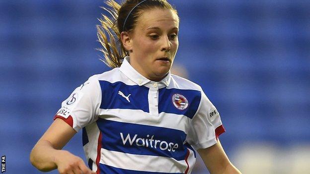Reading women vice-captain Lauren Bruton
