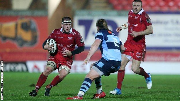 Will Boyde in action against Cardiff Blues in December 2018