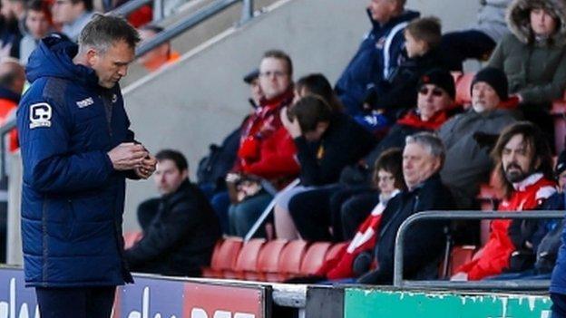 Steve Davis has been manager of Crewe Alexandra since succeeding Dario Gradi in November 2011