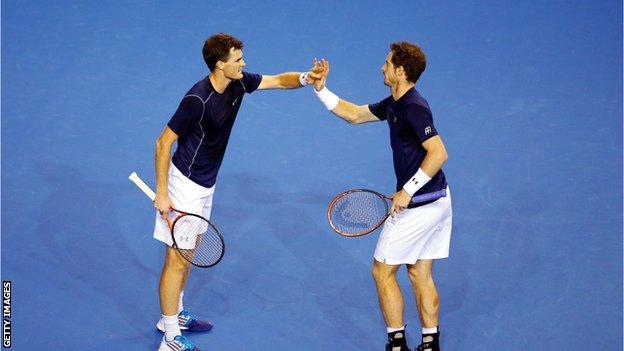 Jamie and Andy Murray