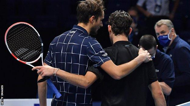 Medvedev beats Thiem to win ATP Finals - highlights & report thumbnail
