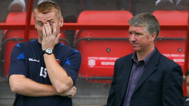 Dean Smith was Martin Ling's number two in their days together at Orient