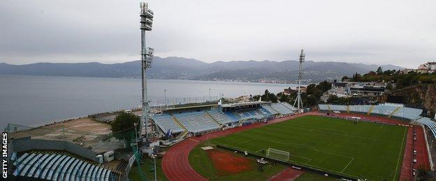 The Stadion Kantrida