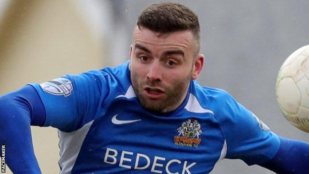 Colin Coates: Numbers game adds up as experienced Glenavon defender looks  to win back place in team - BBC Sport
