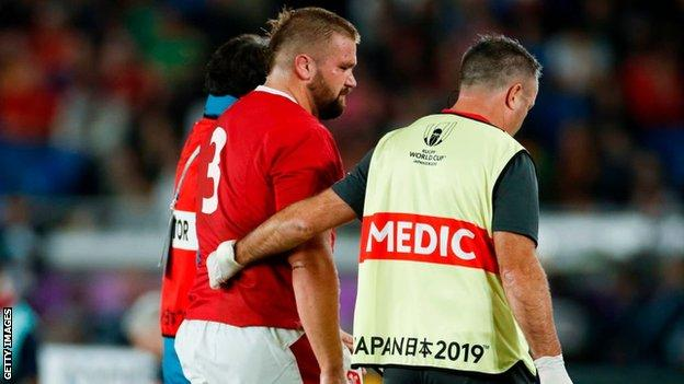 Tomas Francis injured