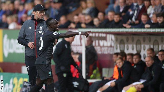 Liverpool manager Jurgen Klopp (left) and Sadio Mane