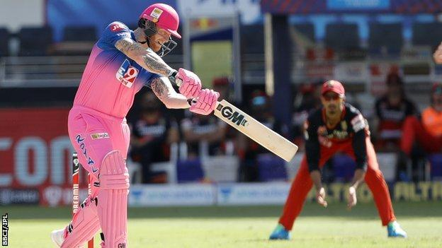 England and Rajasthan Royals all-rounder Ben Stokes
