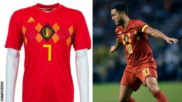 Belgium and Eden Hazard