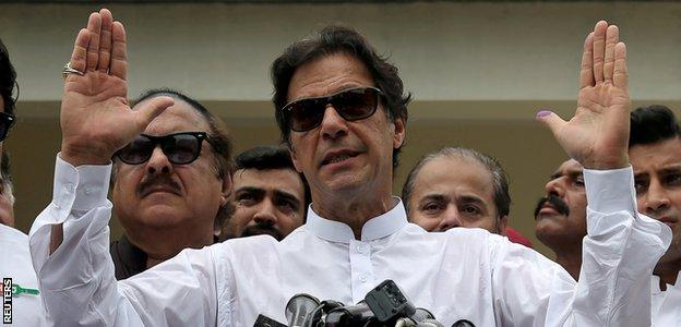 Stock photo of Imran Khan