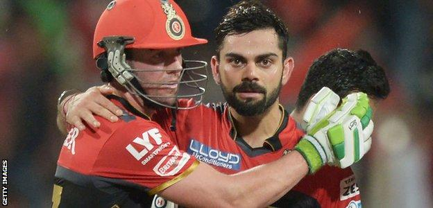 AB de Villiers and Virat Kohli have scored more than 7,000 runs while playing together for Royal Challengers Bangalore in the IPL