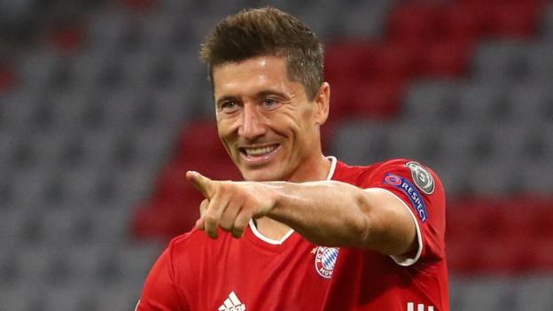 Champions League: Could Robert Lewandowski beat Cristiano Ronaldo
