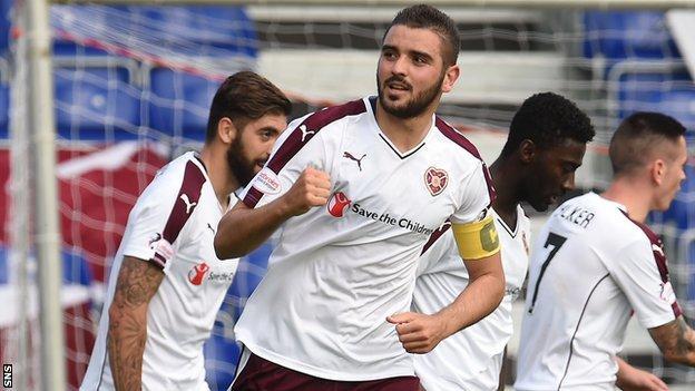 Hearts captain Alim Ozturk