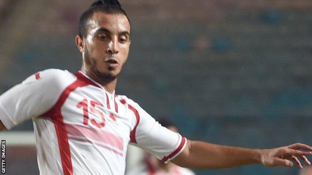Tunisia's Mohamed Ali Moncer