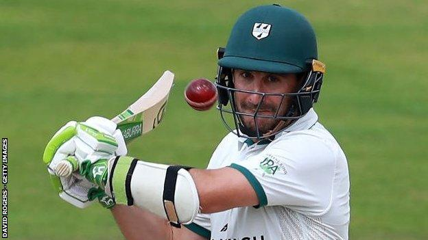 sports Worcestershire opener Daryl Mitchell's first century against Warwickshire means he now needs only reach three figures against Surrey to complete his county set