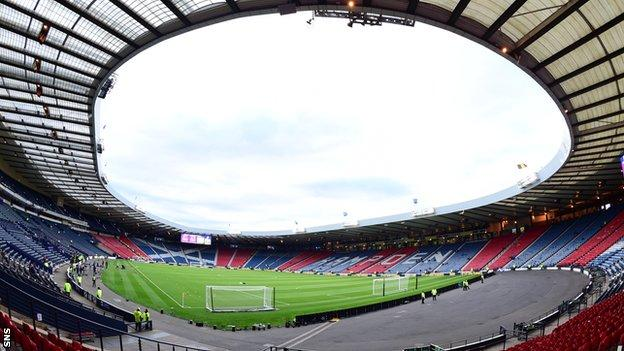 Euro 2020: Hampden gets approval for 12,000 fans at each game thumbnail