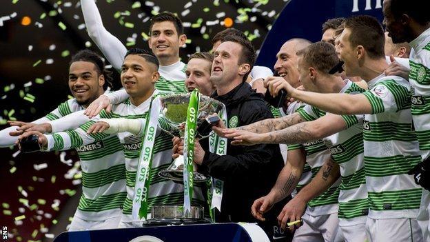 Celtic League Cup winners 2015