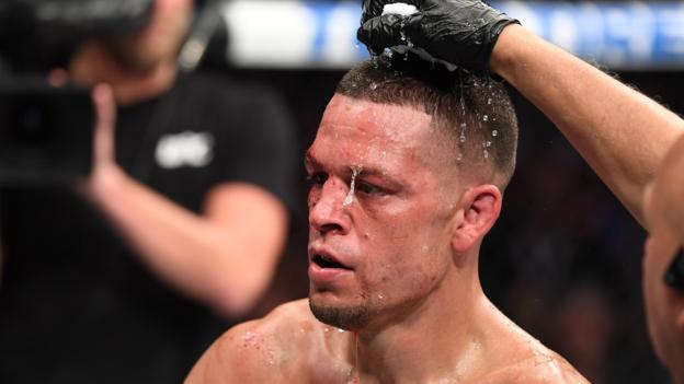 Diaz says he is out of UFC 244 after suggesting he has failed a doping test