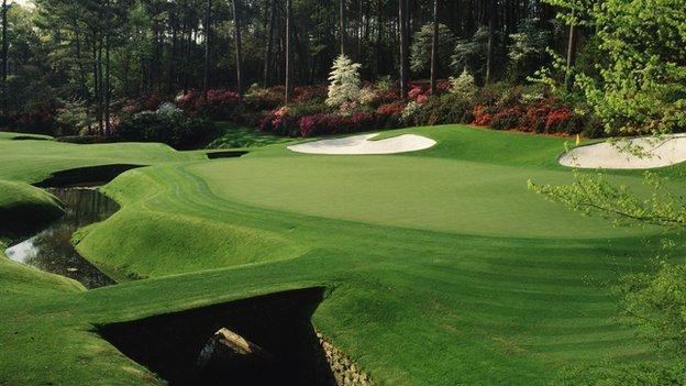 Augusta 12th hole