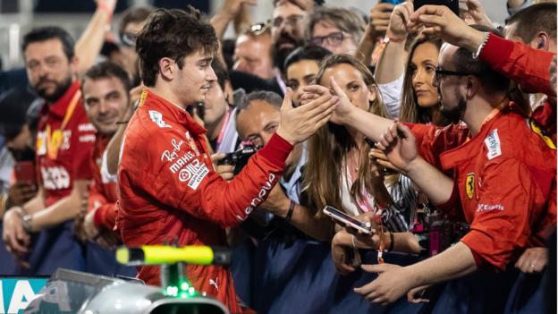 Bahrain GP: 'Much faster' Charles Leclerc has Lewis Hamilton worried thumbnail