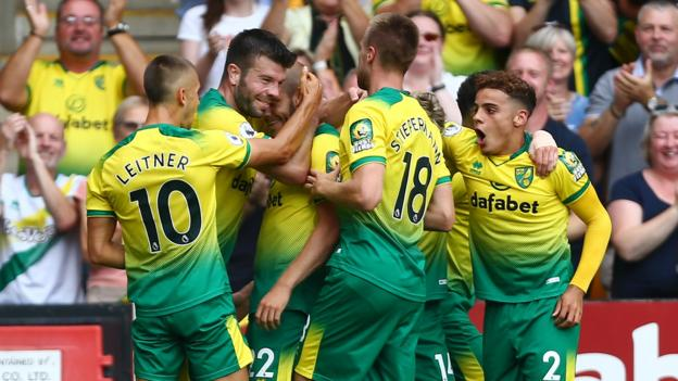 Norwich City 3-1 Newcastle United: Pukki scores hat-trick to seal win thumbnail