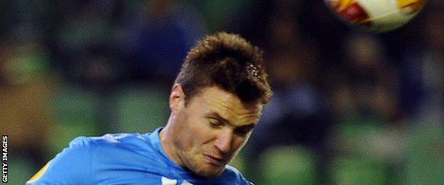 HNK Rijeka captain Dario Knežević