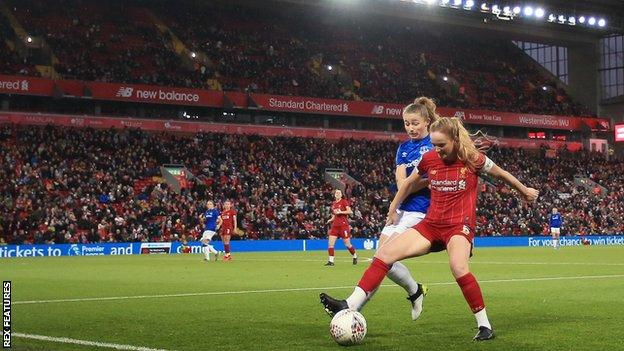 Liverpool Women at Anfield