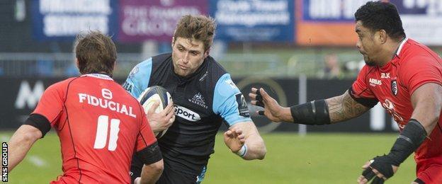 Richie Vernon in action against Toulouse last season