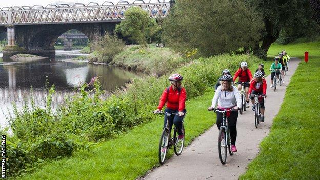 Women-only Breeze Bike rides have proven popular