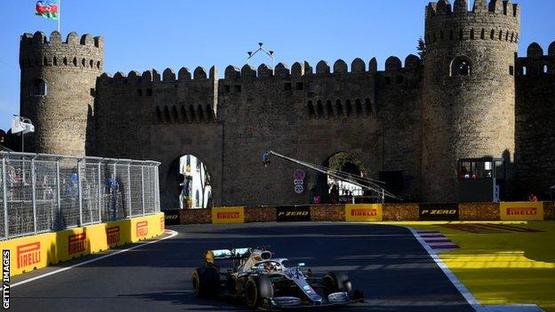 Azerbaijan Grand Prix in Baku