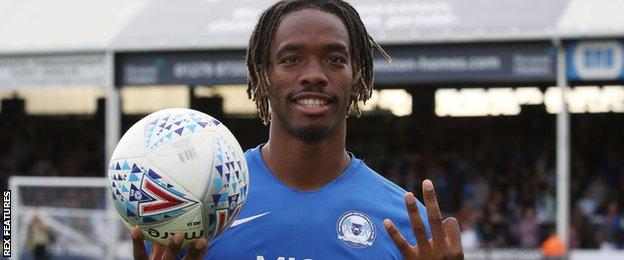 Ivan Toney with the matchball