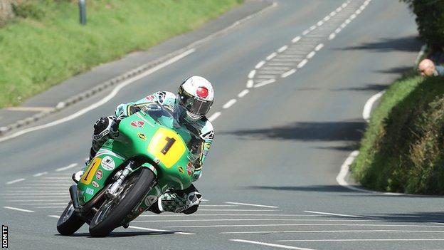 John McGuinness rides the Classic TT