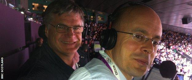 Kheredine was joined by John Beattie in the Wimbledon commentary box