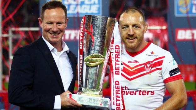 Super League Grand Final: Justin Holbrook's St Helens reign ends on a high