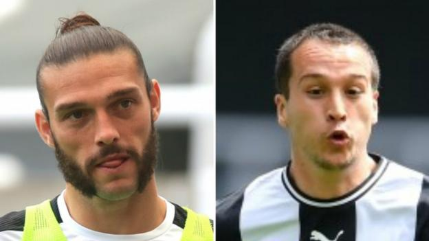 Newcastle United: Andy Carroll and Javier Manquillo sign new contracts thumbnail