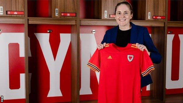 New Wales manager Gemma Grainger is from Middlesbrough