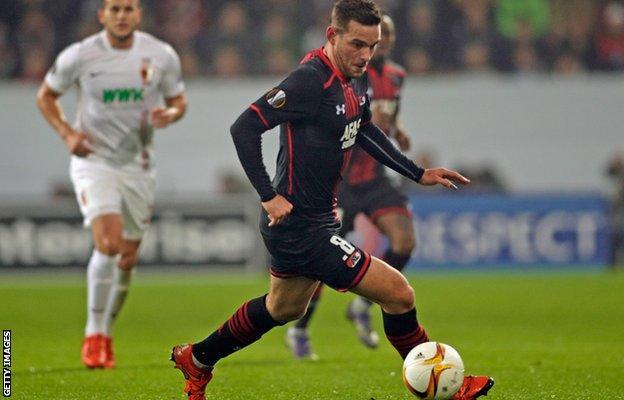 AZ Alkmaar striker Vincent Janssen