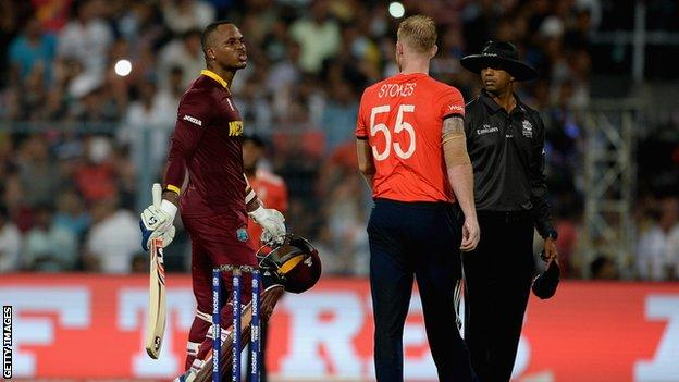 Marlon Samuels and Ben Stokes