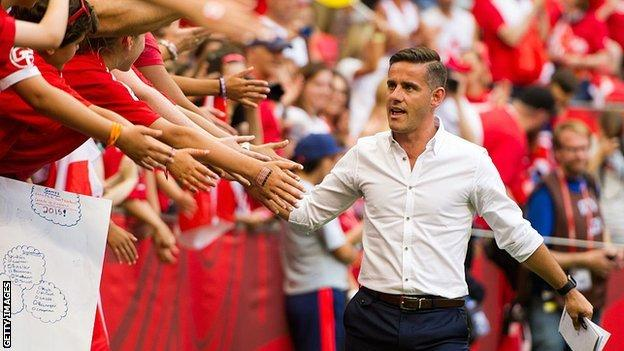 Herdman took charge of the Canada women's team in 2011
