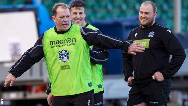 Glasgow Warriors coach Petrus du Plessis