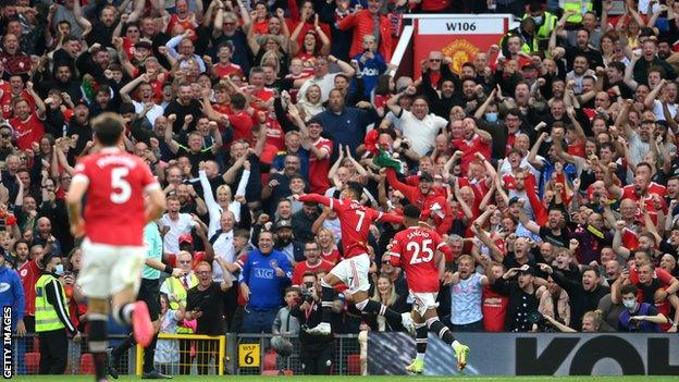 Cristiano Ronaldo, Manchester United, goal celebration