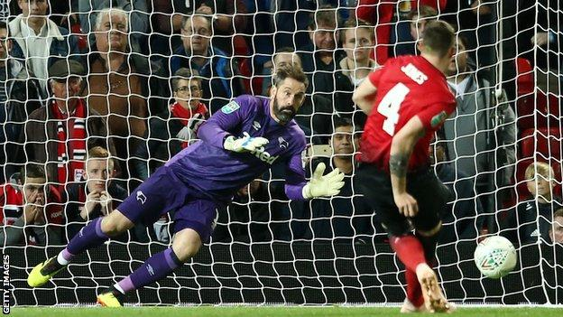Scott Carson was on Liverpool's substitutes bench when they lost to Jose Mourinho's Chelsea in the 2005 League Cup final