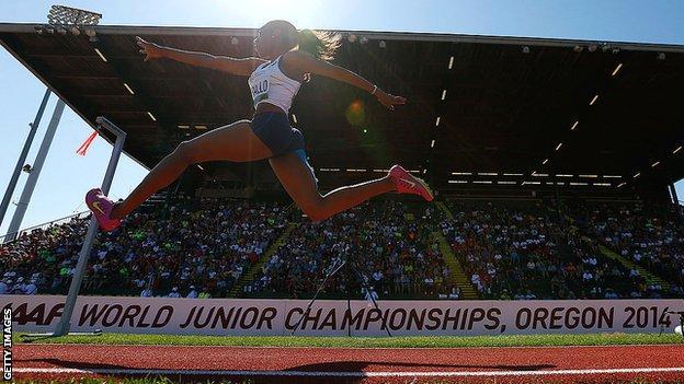 Eugene also hosted the 2014 World Junior Championships