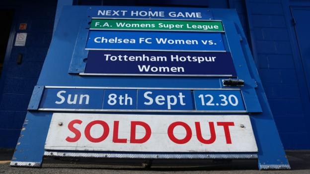 Emma Hayes: Chelsea boss says 'pressure on' WSL to attract big crowds after record weekend