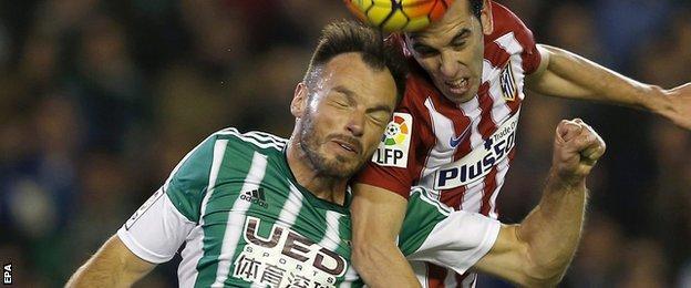 Real Betis defender Heiko Westermann
