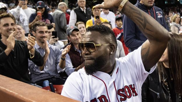David Ortiz: Boston Red Sox legend throws ceremonial pitch in first public appearance since shooting