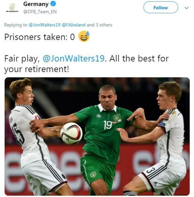 Germany tweet