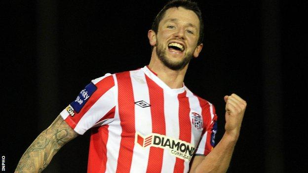 Rory Patterson joined the Candystripes from Plymouth Argyle in January 2012